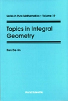 Topics In Integral Geometry